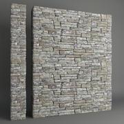 Каменная стена 3d model