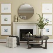 暖炉と装飾2_2 3d model