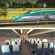 Collezione di modelli 3D di treni veloci Shinkansen 3d model