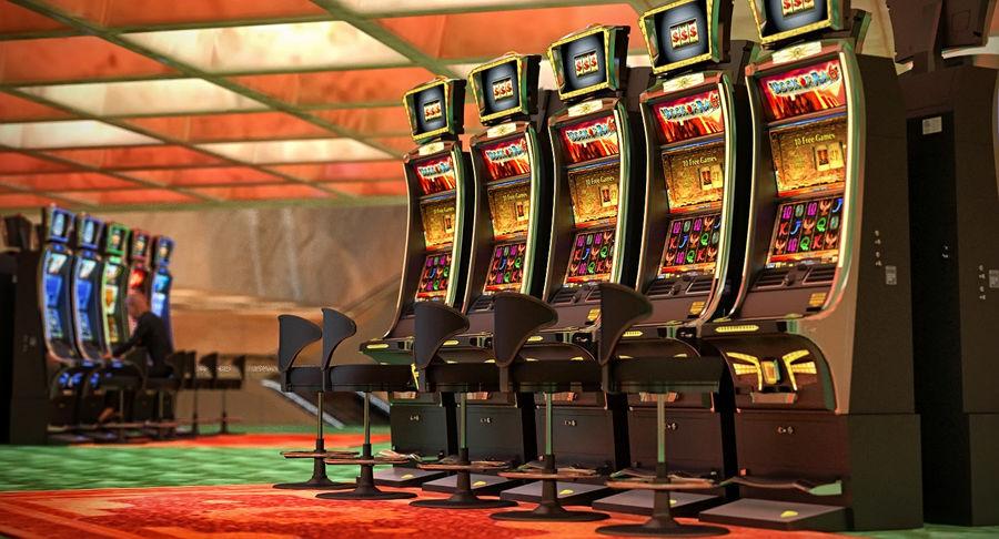 Casino Slot Machines Collection 3d Model 149 Obj Ma Max Fbx C4d 3ds Free3d
