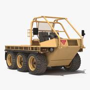 Modèle 3D de désert ATMP High Mobility Vehicle 3d model