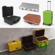 여행 가방 3D 모델 컬렉션 3d model