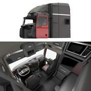 맥 트럭 캐빈 3d model
