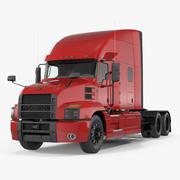 Mack Anthem Truck 2018 3D Model 3d model