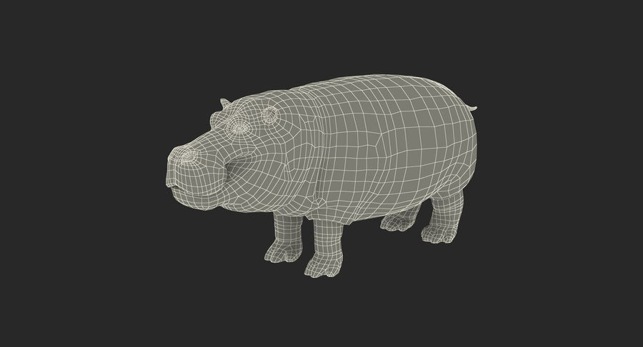 African Animals 3D Models Collection royalty-free 3d model - Preview no. 29