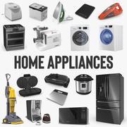 Collection de modèles 3D d'appareils ménagers 3d model