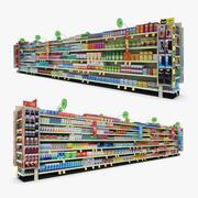 Einzelhandel Gang 15 - Magen- und Grippemittel 3d model