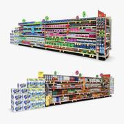Retail Aisle 16 - Allergy & Liquor 3d model