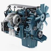 Detroit Diesel Series 60 Motor 3d model