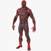 超级英雄人(纹理) 3d model