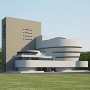 Muzeum Solomona R. Guggenheima 3d model