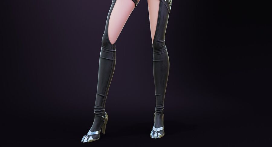 Alisa Hero royalty-free 3d model - Preview no. 7