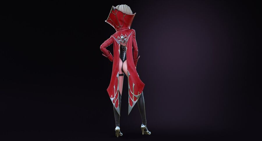 Alisa Hero royalty-free 3d model - Preview no. 8