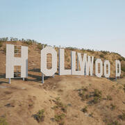 Hollywood teken 3d model
