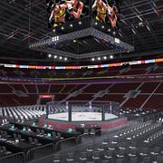 UFC-stadion 3d model