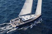 帆船Beneteau Sense 50游艇 3d model