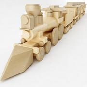 De algemene speelgoedtrein 3d model