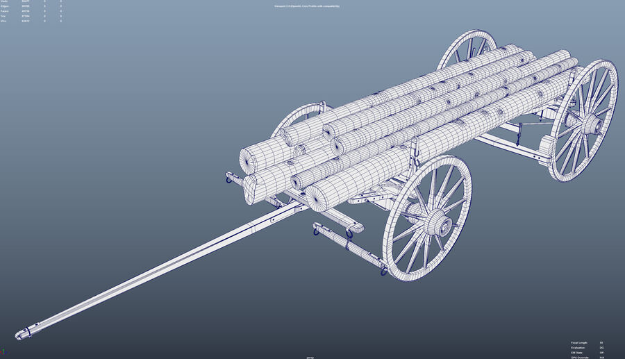 Вагонов royalty-free 3d model - Preview no. 13