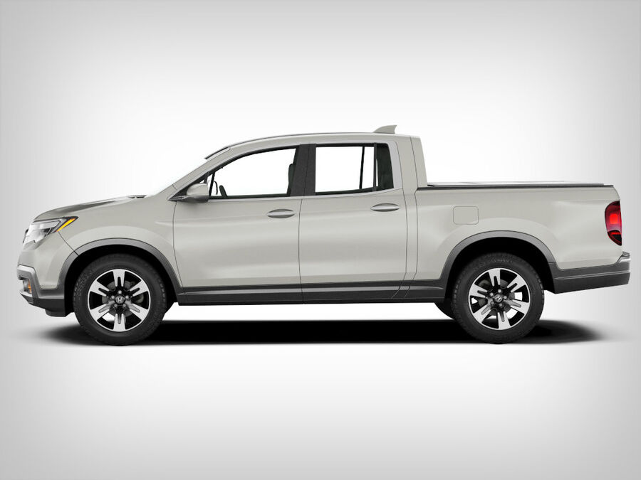 Honda Ridgeline royalty-free 3d model - Preview no. 3