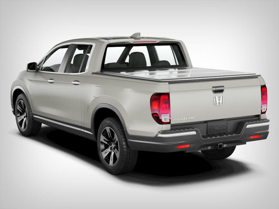 Honda Ridgeline royalty-free 3d model - Preview no. 2