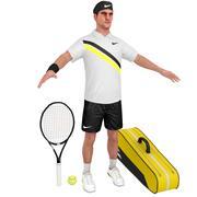 Roger Federer V2 3d model