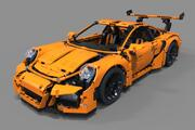 Voiture de sport Lego 3d model