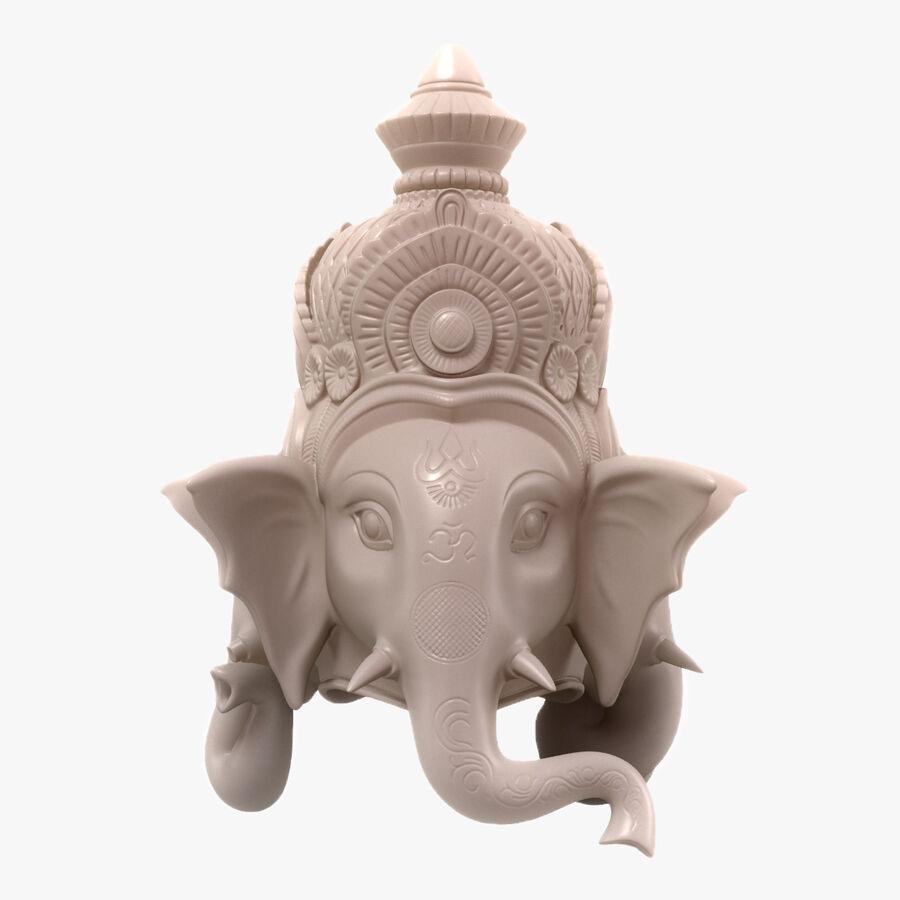 Ganesha Üç Yüz royalty-free 3d model - Preview no. 1