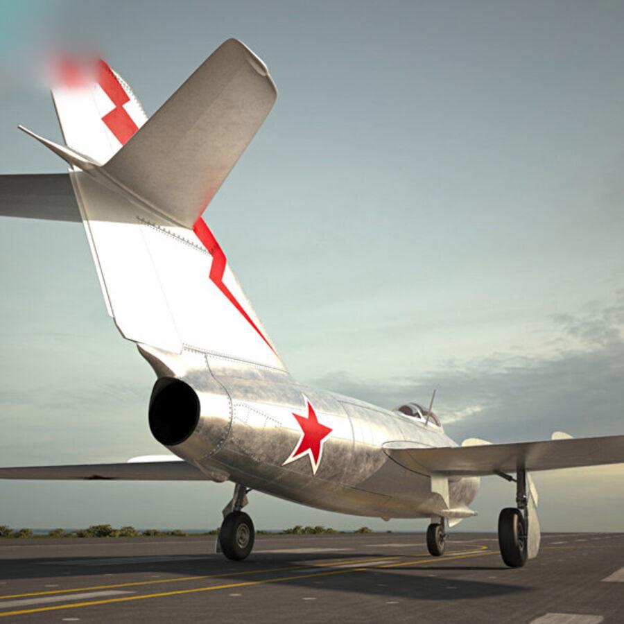 Mikoyan-Gurevich MiG-15 royalty-free 3d model - Preview no. 2