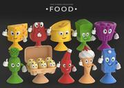 食物 3d model