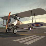 Sopwith Camel 3d model