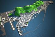 Gibraltar Lowres Skyline 3d model