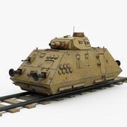 WW2 German Artillery Wagon 3d model