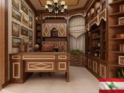 图书馆内部 3d model