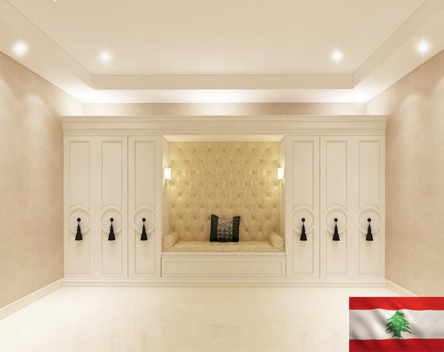 gabinete royalty-free 3d model - Preview no. 2