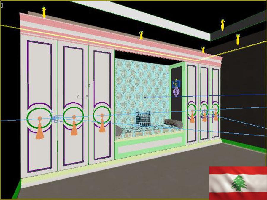 gabinete royalty-free 3d model - Preview no. 4