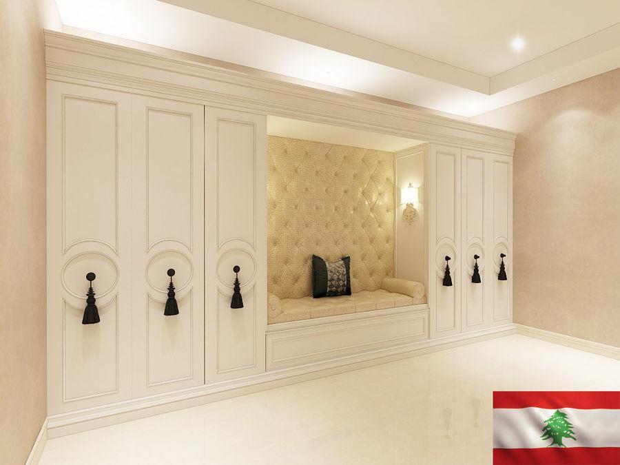 gabinete royalty-free 3d model - Preview no. 1
