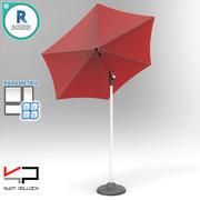 테이블 우산 3d model