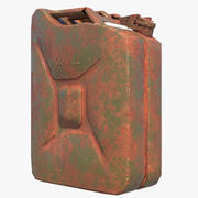 Jerrycan dirty 3d model