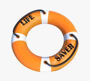 Anillo salvavidas modelo 3d