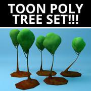 Мультяшная стилизованная елка! 3d model