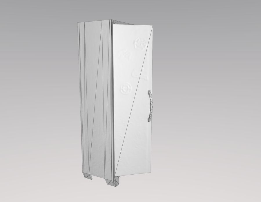 戸棚 royalty-free 3d model - Preview no. 5