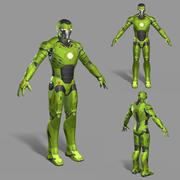 Personnage de science-fiction 3d model