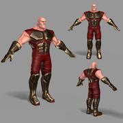 スーパーヒーロー 3d model
