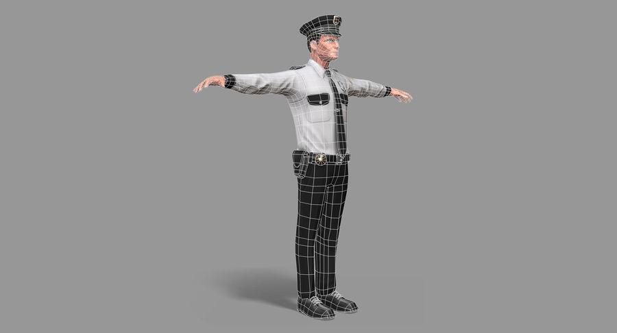 Polis royalty-free 3d model - Preview no. 33
