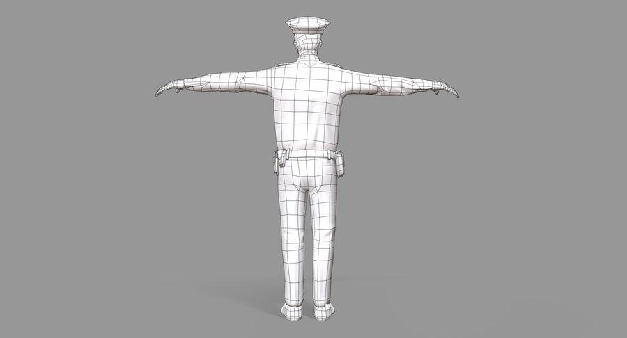 Polis royalty-free 3d model - Preview no. 32
