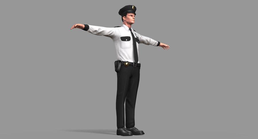 Polis royalty-free 3d model - Preview no. 20