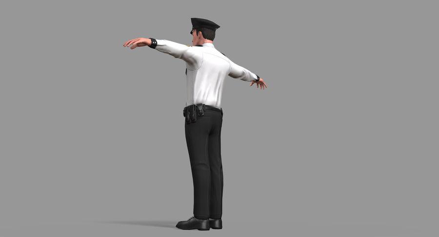 Polis royalty-free 3d model - Preview no. 26