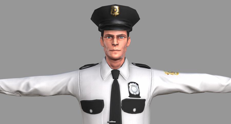 Polis royalty-free 3d model - Preview no. 34