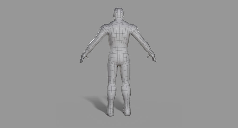 Ironman Hero royalty-free 3d model - Preview no. 22