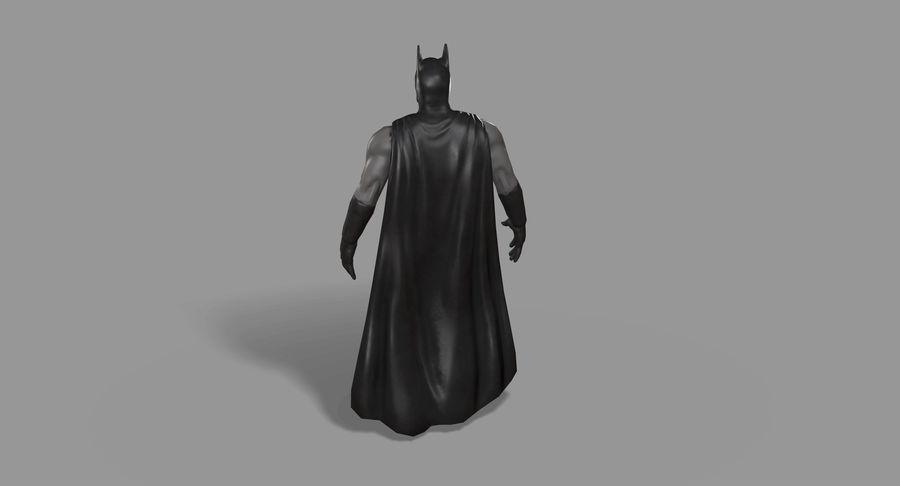 Batman Hero royalty-free 3d model - Preview no. 15